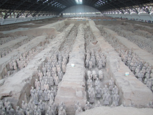 Het terracottaleger in Xian